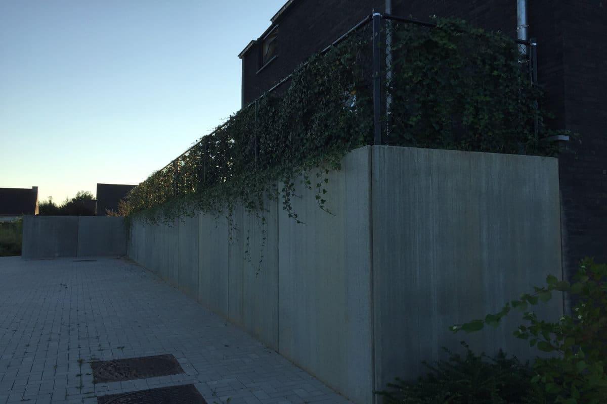 Hoogteverschillen tuin