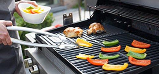 Voorbeeld gasbarbecue