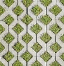betonnen grastegels