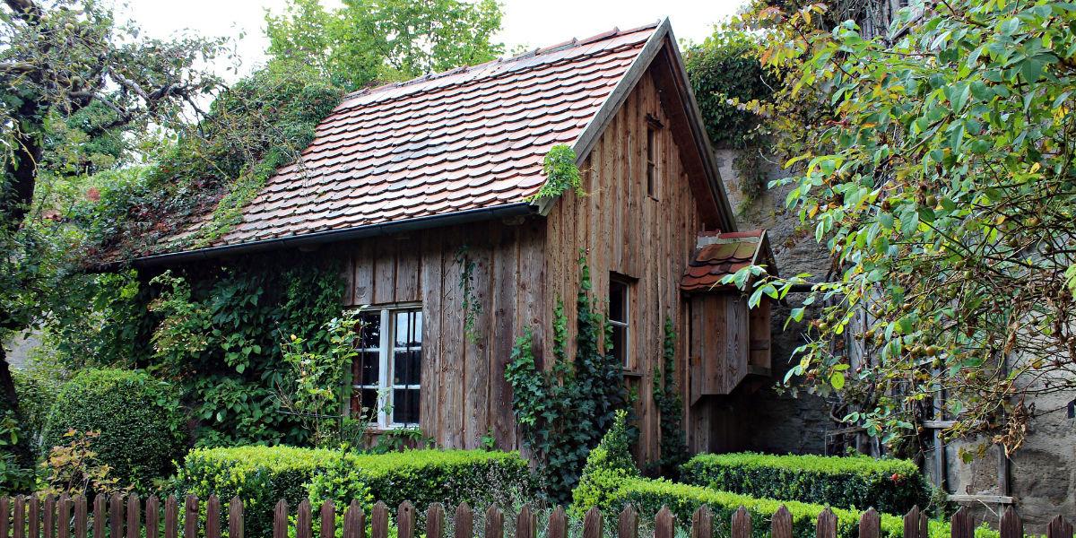 transparante beits tuinhuis