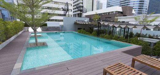 zwembad buiten